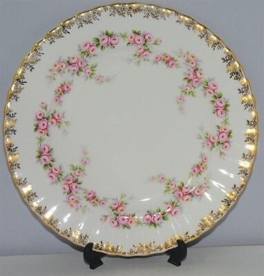 1-Royal Albert Dimity Rose Salad Plate ( 3 Available )