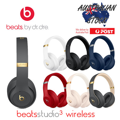 Beats Studio3 Wireless Over-Ear Headphones - Sealed In Box - 6 Colours Available