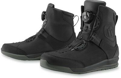 Icon Patrol 2 Black Boot