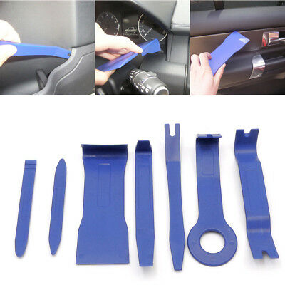 Car Removal Open Tools Door Clip Kit Panel Radio Trim Dash Audio Installer 7PCS