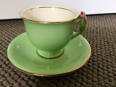 "Royal Winton Grimwades ""rosebud"" Rare Demitasse Size Cup & Saucer For Coffee"