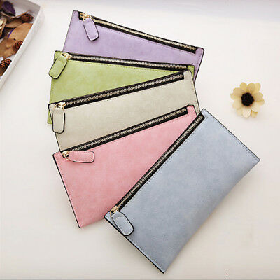 Long Leather Women Lady Wallet Clutch Coin Purse Case Bag Card Holder Handbag