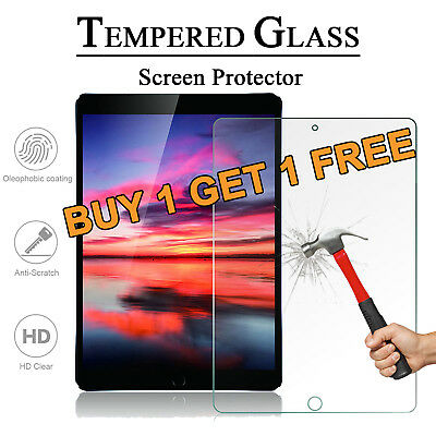 """For iPad 9.7"""" 2018 6th Gen Screen Protectors Clear Tempered Glass LCD Film Cover"""