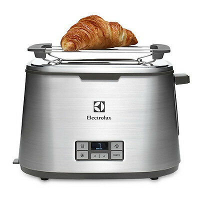 Electrolux Toaster 2 Slices Pop-Up Digital Expressionist Collection ETS7804S