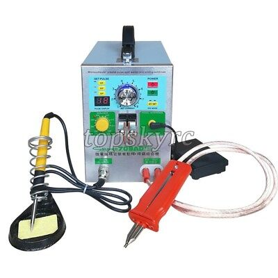 3 In 1 SUNKKO 709AD+Battery Pulse Spot Welder For 18650  + 70B Welding Pen 220V