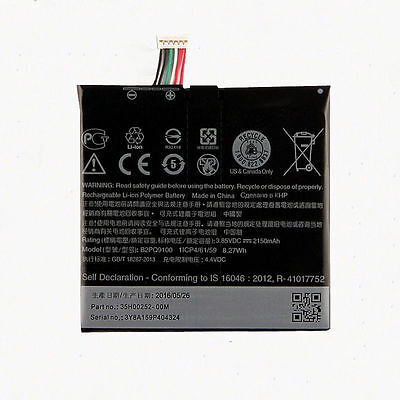 2150mah Replacement Battery B2PQ9100 For HTC One A9 / Telstra Signature Premium