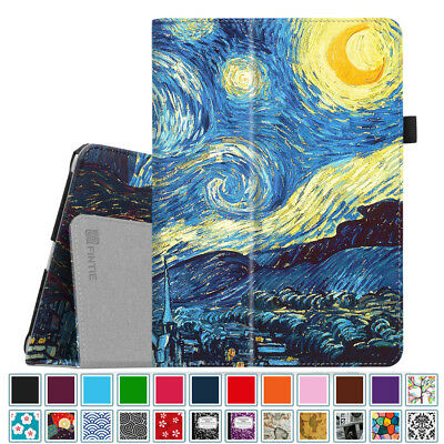 For New iPad 6th Gen 9.7 inch 2018 / 5th Gen 2017 Leather Folio Case Cover Stand
