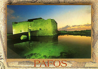 Cyprus  -  Paphos (Pafos) - View of the Paphos Castle
