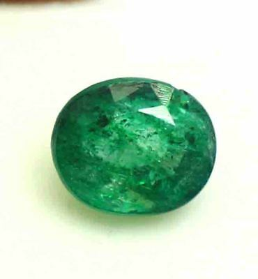 Free Shipping 6.25 Ct EGL Certified Natural Colombian Green Emerald Gems BZ1105