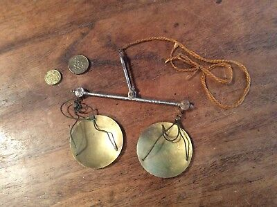 Georgian Coin Scales With Rare Weights, C1800