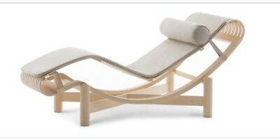 Charlotte Perriand Tokyo chaise longue Armchair  By Cassina Design