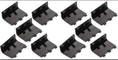 10 x Black Battery Cover Lid Shell Door Replacement for Xbox One Controller