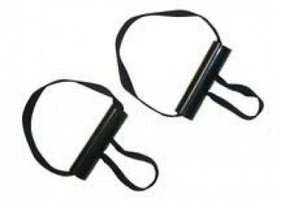 Exerband EzChange Exercise Tubing and Bands Assisted Grip Handle (1 pair)