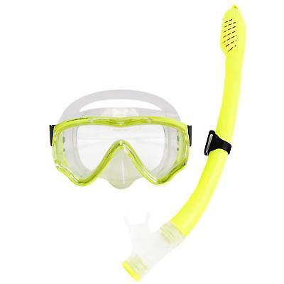 SWICEN Kids Snorkeling Set - Diving Mask and Snorkel Scuba Anti fog Dive Goggles
