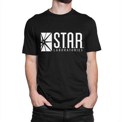 S.T.A.R. Laboratories T-Shirt, Flash Series STAR Labs Tee, All Sizes