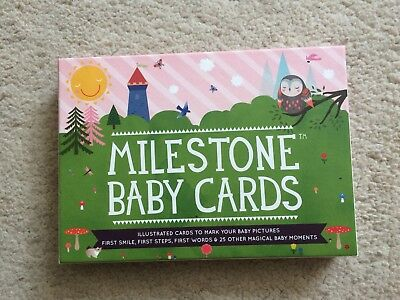 Baby 'today I Am' Milestone Month/achievement Cards
