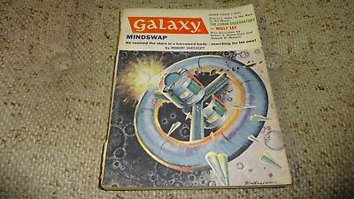 Vintage GALAXY Science Fiction Pulp Digest Magazine June 1965 Vol 23 # 5