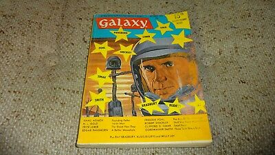 Vintage GALAXY Science Fiction Pulp Digest Magazine Oct 1965 Vol 24 # 1