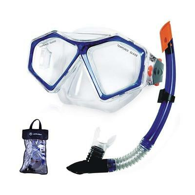 Winmax Anti-fog Diving Mask and Snorkel Set, Wide View Mask Snorkel Set One Two