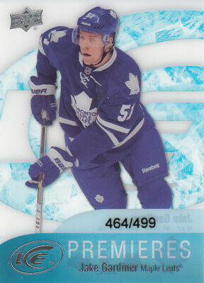 2011-12 Upper Deck Ice Premieres Sp #77 Jake Gardiner Rc 464/499