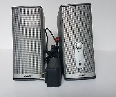 Bose Companion 2 Series II Multimedia & Computer Speaker System TESTED