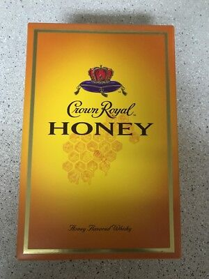 1 RETIRED Crown Royal Honey Complete Collectors Sealed Box