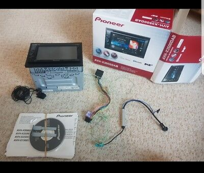 Pioneer AVH-X3500DAB Pioneer AVHX3500DAB Car DVD Player BT iPhone USB