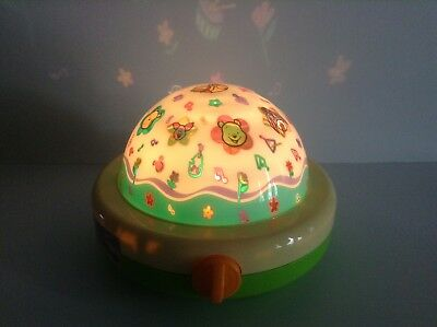 Tomy 1987 Disney Light Show Musical Baby Soother