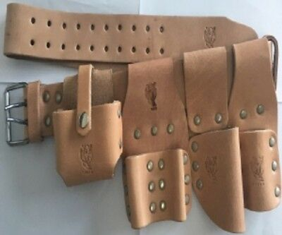 Scaffolding Leather Belt 5Pcs Branded And Top Quality