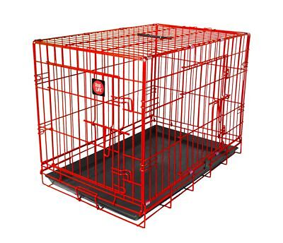 Red Dog Crates, Dog Cages for Training & Travel By Dog Life