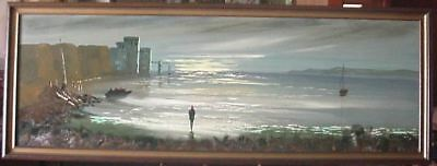Oil Landscape / Seascape Painting – Signed Carlo