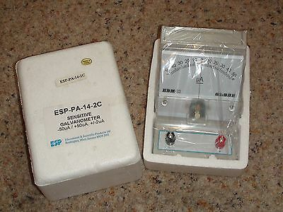 Single range –50uA to +50uA Galvanometer (Analogue Desktop Ammeter) BNIB
