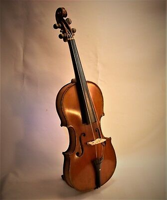 Antique Violin and Antique Wood Case