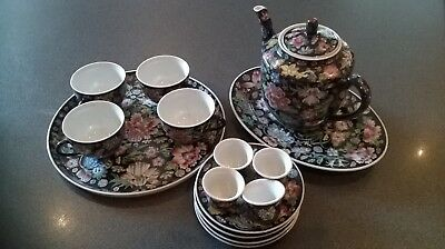 Chinese Vintage Tea Set..Complete and new condition