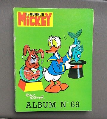 Reliure Mickey n°69. Le journal de Mickey. Walt Disney