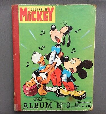Reliure Mickey n°3. Le journal de Mickey. Walt Disney