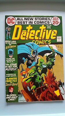 Detective Comics # 425 The Stage Is Set...For Murder ! scarce book !!