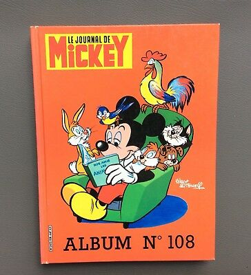 Reliure Mickey n°108. Le journal de Mickey. Walt Disney