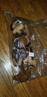 vintage pizza hut plush hand puppet antty new, never used