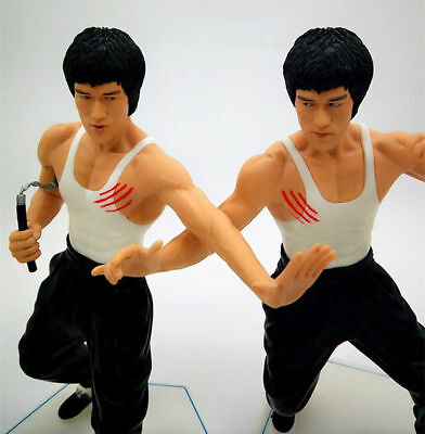 Hot! Bruce Lee 28cm PVC Action Figure Collectors Toy Gift New No Box