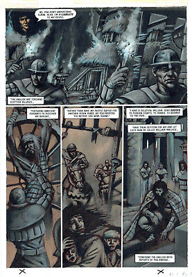 2000Ad Slaine Original Comic Art