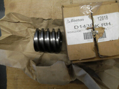 Boston Gear (Altra) D1438KRH Steel Worm NEW ORIG BOX
