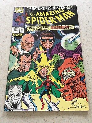 Amazing Spider-Man  337  NM-  9.2  Sinister Six  Vulture  Electro   Infinity War