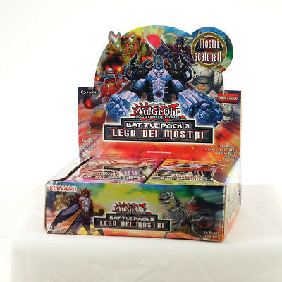 YU-GI-OH! BATTLE PACK 3 Lega dei Mostri  Display BOX con 36 Buste ITALIANO