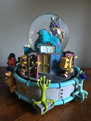 "RARE - Walt Disney Pixar Monsters Inc Snow Globe Snowglobe ""IF I DIDNT HAVE YOU"""