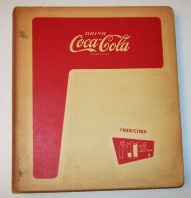 Coca-Cola  Pre-mix Production Handfbook from 1956