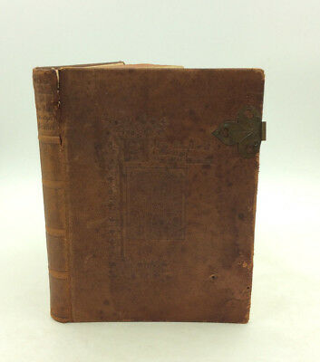 OF THE TUMBLER OF OUR LADY & OTHER MIRACLES -1908, 1st, leather bound, medieval