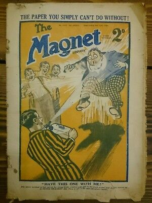 Vintage The Magnet Library 1929 Boys School Magazine No 1,117 Frank Richards