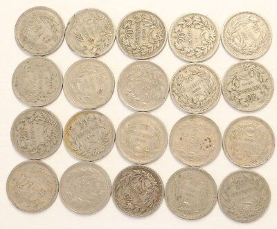 20 Centavos Chile 1921-1941 Coin Lot Of 20 Foreign World Combined Shipping E4