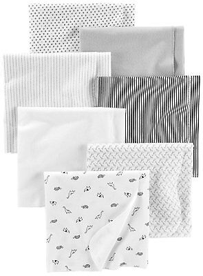 Simple Joys by Carter's Baby Unisex 7-Pack Flannel Receiving Blankets, One Size